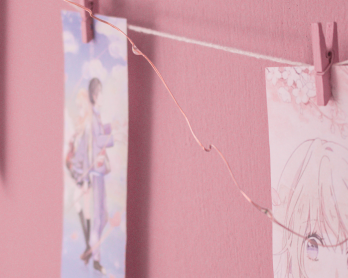 Your Lie in April printable banner decor