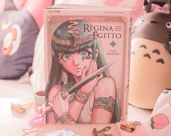 Manga seinen: La regina d'Egitto